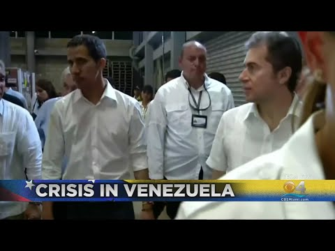 Venezuela's Guaidó Attends Concert On Eve Of Humanitarian Aid