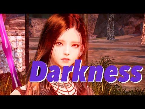 [Black Desert Mobile] Darkness(Dark Knight Awakening) Combat Play