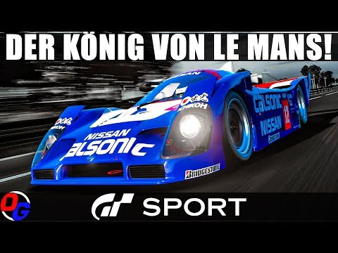 GT SPORT Let's Play Deutsch – Nissan R92CP | Gran Turismo 4K Online Gameplay German thumbnail