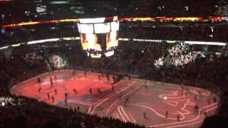 Chicago Blackhawks Intro (United Center, 2/28/16)