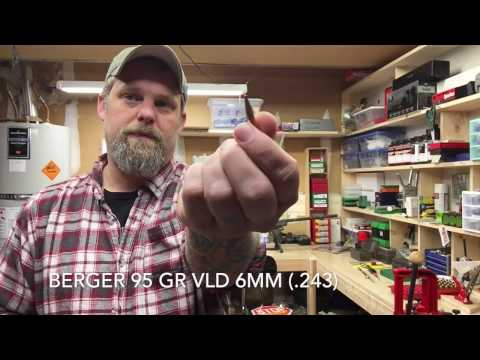 243 Precision Load Development, Berger 95gr VLD (Pt. 1 of 2)