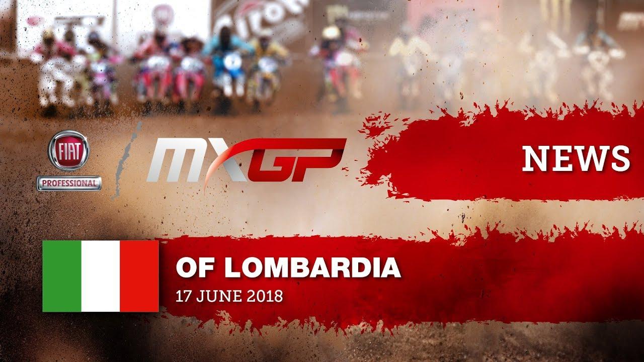 NEWS HIGHLIGHTS - FIAT Professional MXGP of Lombardia 2018