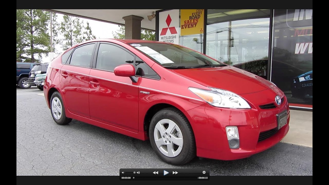 2011 Toyota Prius Hybrid Start Up  Engine  And In Depth