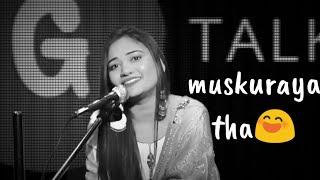Muskuraya tha || Goonj Chand Shayari || New Whatsapp Status Video