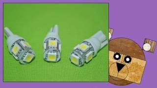 видео виды светодиодов