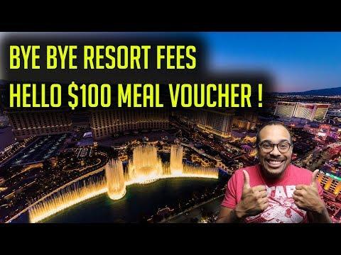 Caesars Status Match - No Resort Fees, Free Atlantis Trip, $100 Meal Voucher