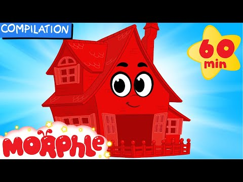 My Magic House (Learn About Animal Homes) + 1 hour My Magic Pet Morphle Mega Compilation For Kids!) - Видео с YouTube на компьютер, мобильный, android, ios