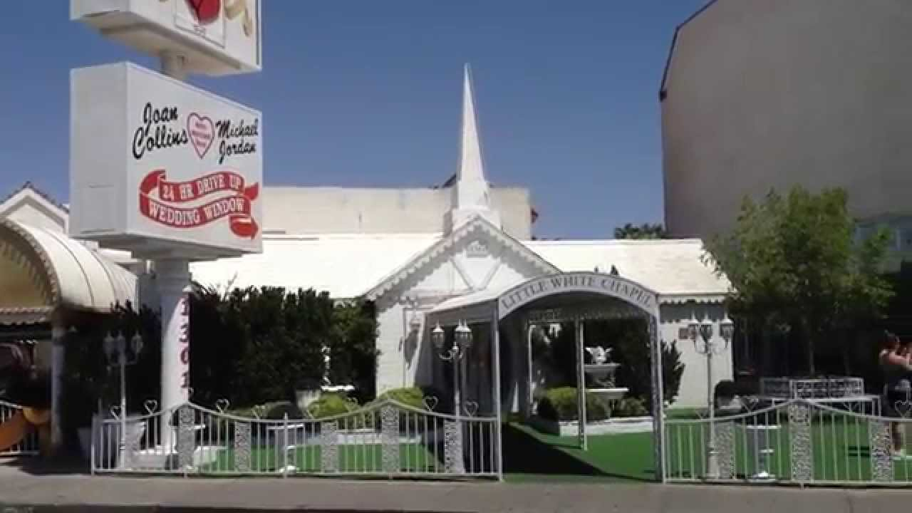 Wedding Chapel Tours A Little White Las Vegas Nevada You