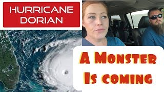 WAITING ON HURRICANE DORIAN | CAT 5  HURRICANE