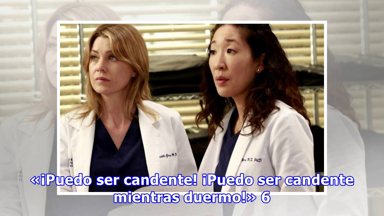 Greys Anatomy 9 Frases Increíbles De Cristina Yang Youtube