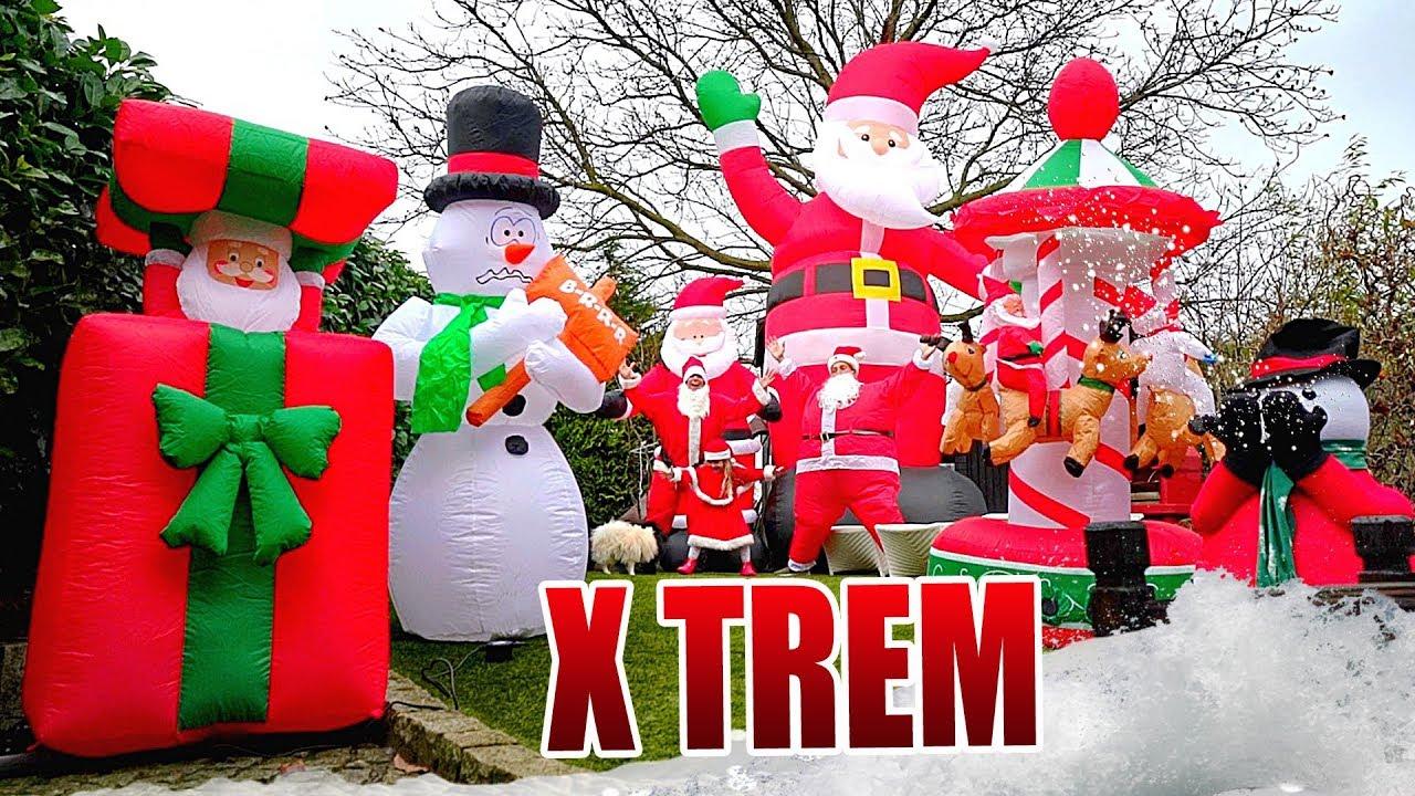 Weihnachtsdeko Hornbach.Xxl Weihnachtsdeko Für Dein Zuhause Pearl Aufblasbare Weihnachten Review Test Deutsch