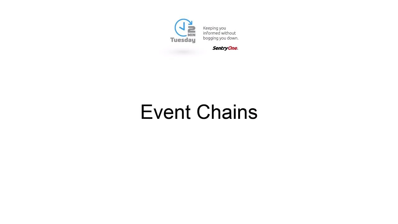 Event Chains | SentryOne
