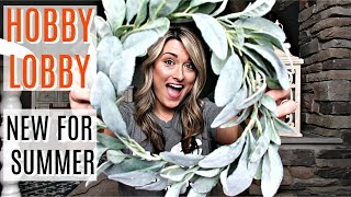 SHOP WITH ME & HAUL! | SUMMER 2019 AT HOBBY LOBBY | Cook Clean And Repeat