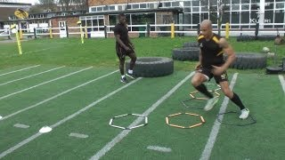 Speed & Agility With Tom Varndell & Christian Wade - Part Two - The Track