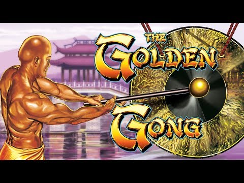 Golden Gong Slot - NICE SESSION, ALL FEATURES! - 동영상