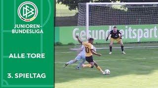 Torflut im Ost-Derby & Borussia gegen Borussia | Alle Tore der A-Junioren-Bundesliga | 3. Spieltag