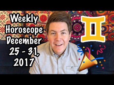 Weekly Horoscope for December 25 - 31, 2017 | Gregory Scott Astrology