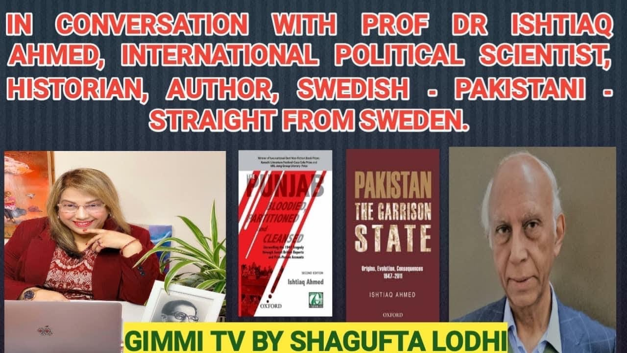In Conversation with Dr Ishtiaq Ahmed