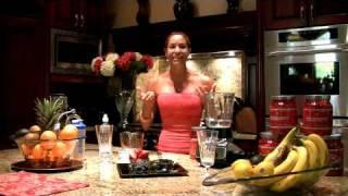 Jnl's Sexy Super Berry Banana Blast Protein Smoothie Demo