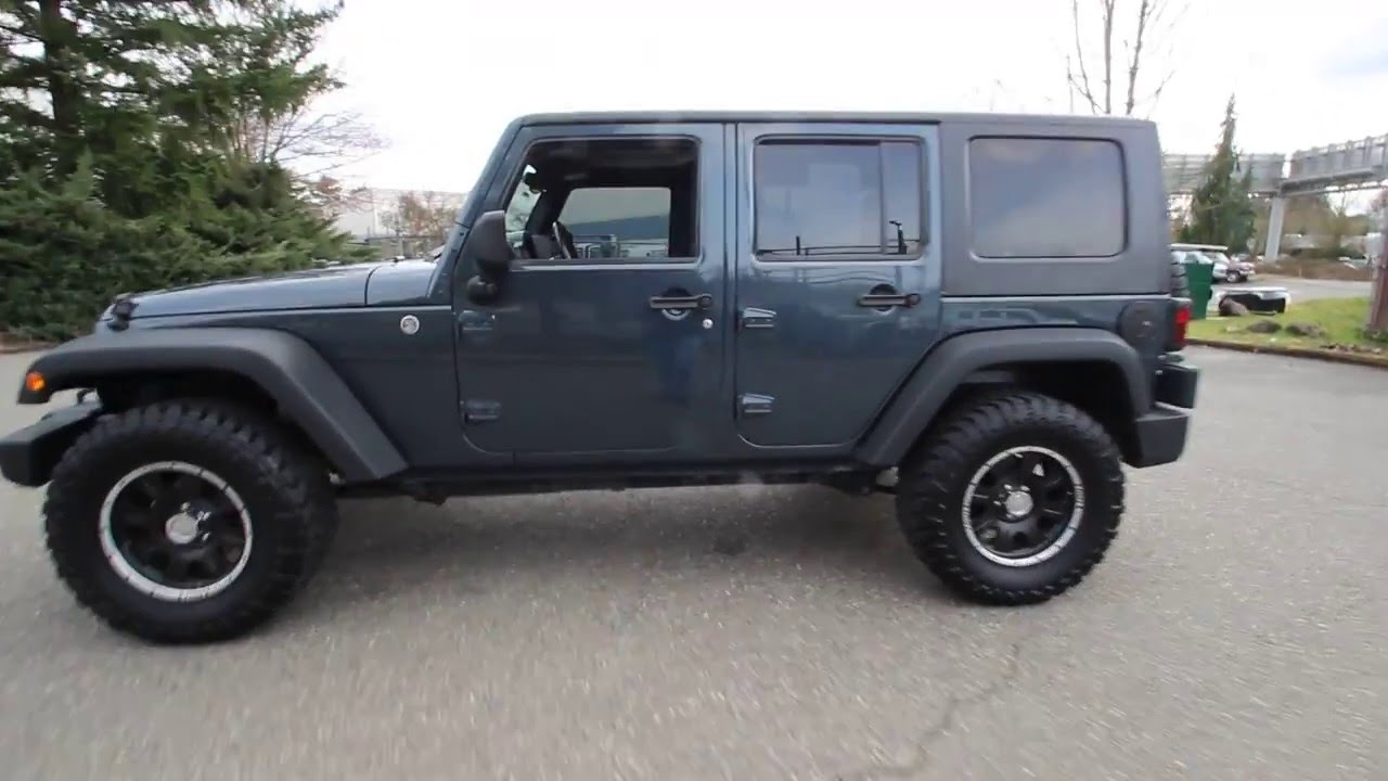 2008 Jeep Wrangler Unlimited X Steel Blue Metallic