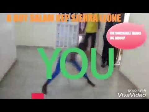 Africa best UNTOUCHABLE DANCING GROUP B BOY SALAM