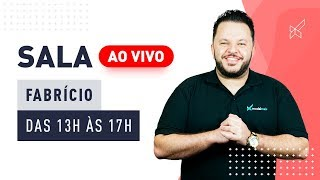 SALA AO VIVO DAY TRADE - FABRICIO STAGLIANO no modalmais 19.07.2019