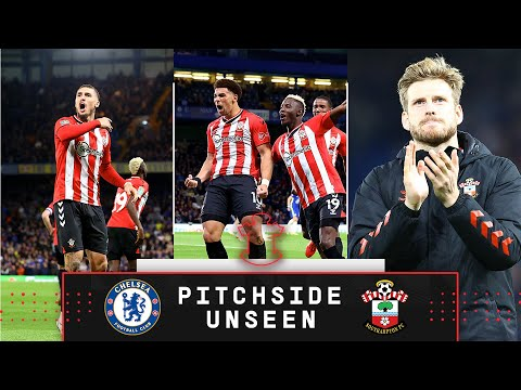 PITCHSIDE UNSEEN: Chelsea 1-1 Southampton (4-3 pens)   Carabao Cup