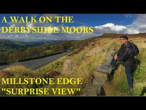 A Walk On The Derbyshire Moors - Millstone Edge
