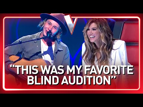 17-Year-Old AUTHENTIC Singer-Songwriter INSPIRES The Voice Coaches  Journey 84