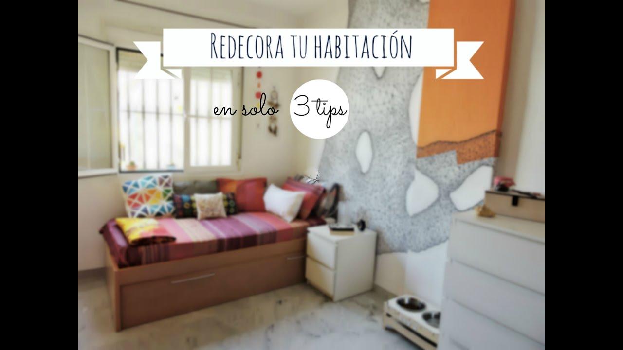redecora tu habitaci n en s lo 3 pasos super f cil