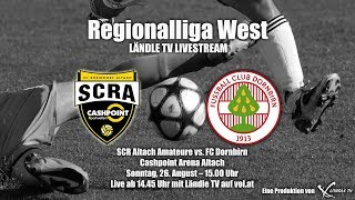 LIVE: SCR Altach Ama. vs FC Dornbirn