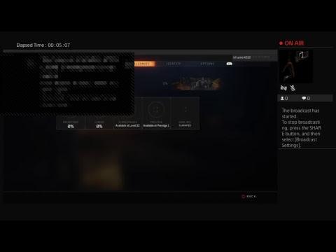 bframe4010s Live PS4 Broadcast