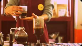 """Pha cà phê """"sẵn"""" ngon theo phương pháp Nhật Bản (syphon)"""