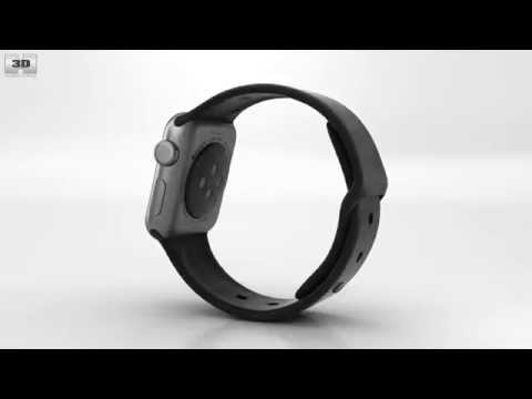 apple-watch-sport-38mm-space-gray-aluminum-case-black-sport-band-by-3d-model-store-humster3d.com