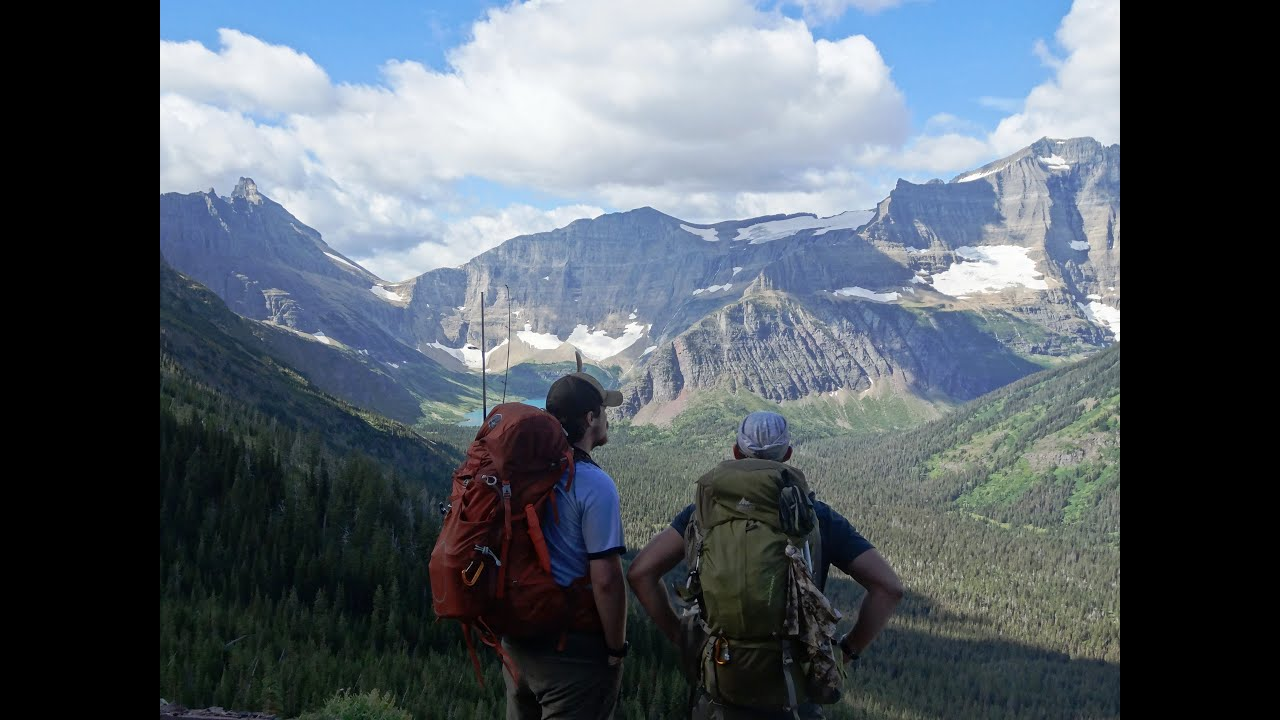 Backpacking Glacier National Park >> Backcountry Backpacking Treks In Yellowstone NP, Glacier NP, & more - YouTube