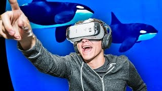 Samsung Gear VR Innovator Edition for S6 (Powered By Oculus) Reaction - RussoTalks