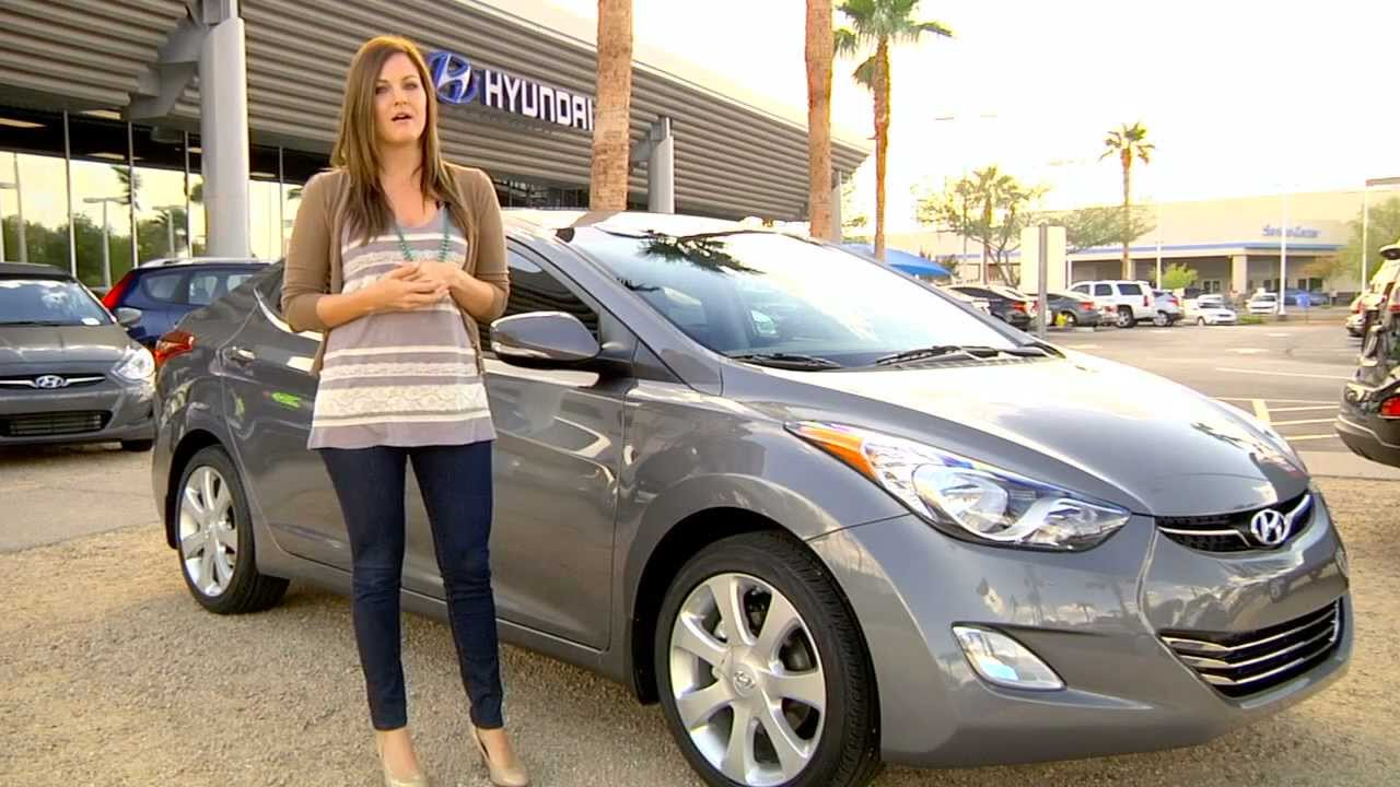 Hyundai Elantra 2012 Model >> 2012 Hyundai Elantra Limited Edition - Hyundai of Tempe - YouTube