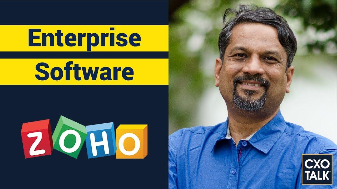 Zoho CEO Sridhar Vembu on Building an Enterprise Software Suite