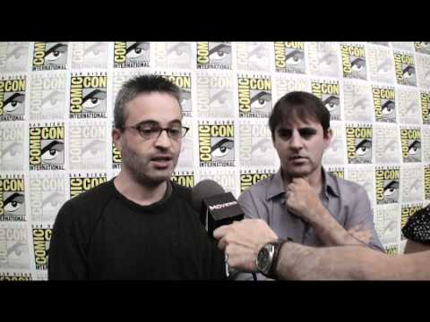Cowboys and Aliens - Comic-Con 2010 Exclusive: Alex Kurtzman and Roberto Orci