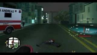 1st person gta SA:the cs mod fun(hs compilation) 2008