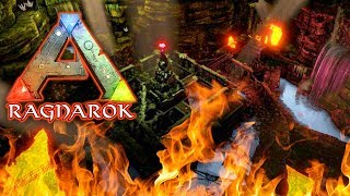 Underground Lava Dungeon ARK RAGNAROK SURVIVAL DLC EP 38