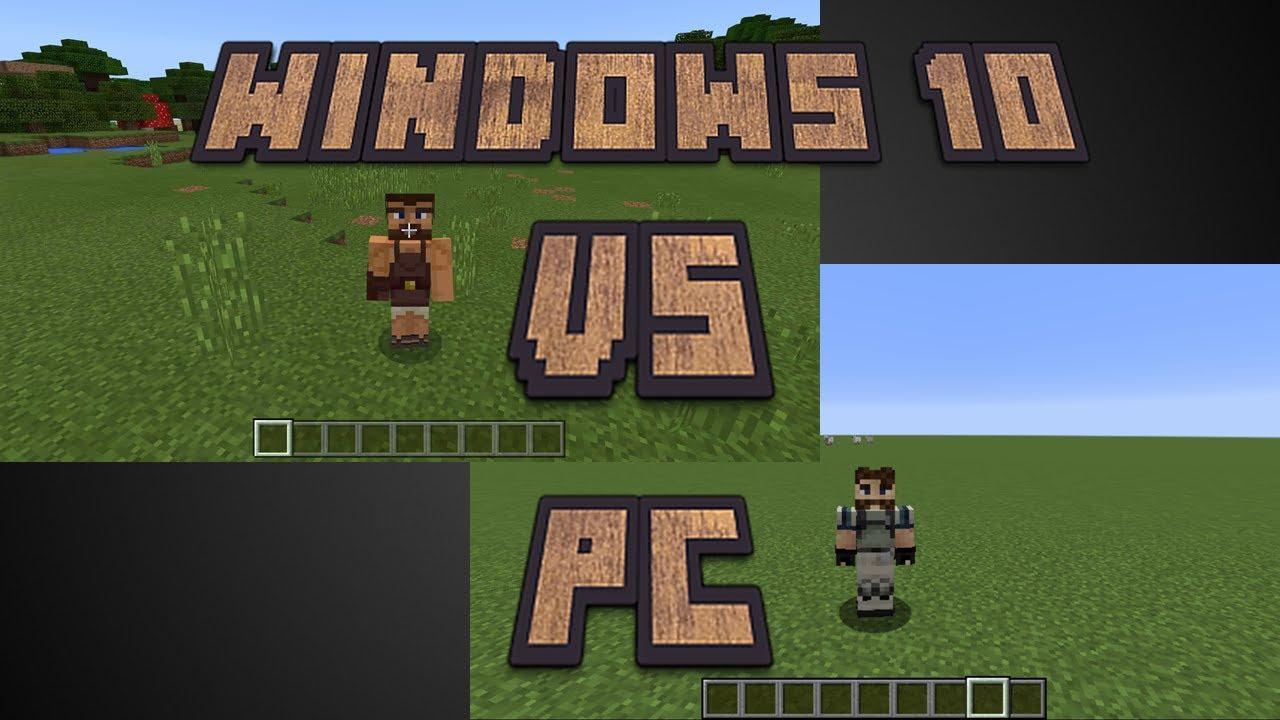 Minecraft Windows 8 Edition Vs Standard PC Version