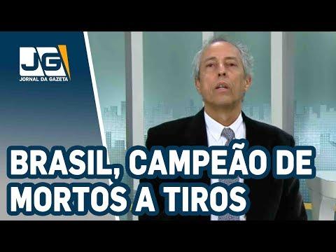 """Bob Fernandes / Brasil, campeão mundial de mortos a tiros. E Bolsonaro prega """"matar petralhada""""."""