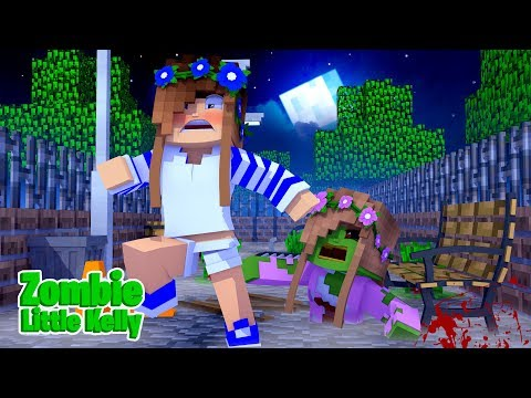 HOW TO TURN YOUR SISTER INTO A ZOMBIE! w/Little Carly and Little Kelly (Minecraft Roleplay).