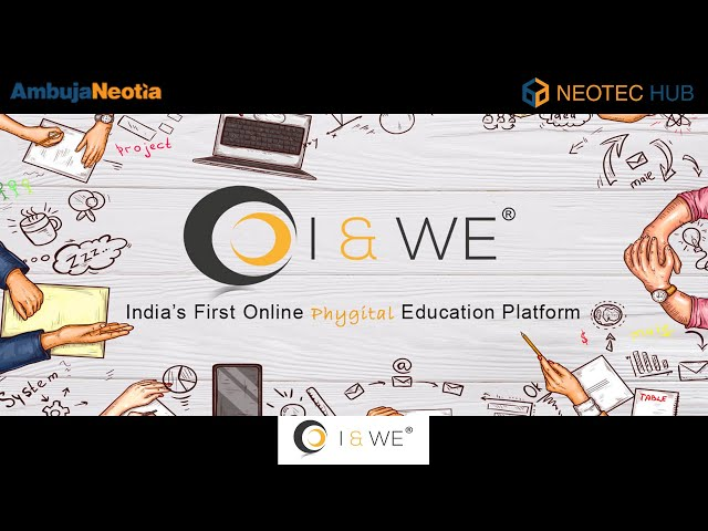 I & We | Startup | Incubated at Neotec Hub