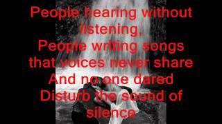 The Sound of Silence  lyrics Original Version from 1964