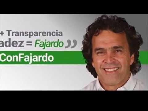 Decencia+Transparencia+Honradez=Fajardo. #TodosConFajardo