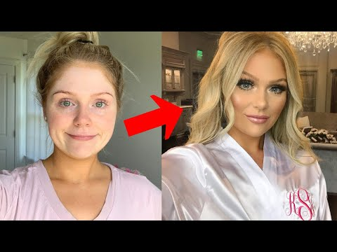 1 HOUR BRIDAL MAKEUP TRANSFORMATION | GET READY WITH ME thumbnail