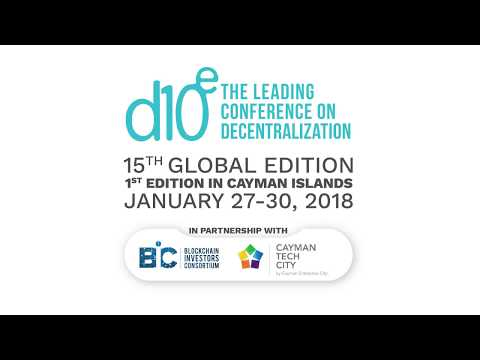 Daniel Wolfe, CEO & Co-Founder at Tradingene - Presentation at d10e Cayman Islands