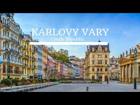 Karlovy Vary - The Oldest Spa Town in West Bohemia - Czech Republic